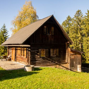 Herbst, Ferienhütte Windlegern in Neukirchen, Oberösterreich, Oberösterreich, Österreich