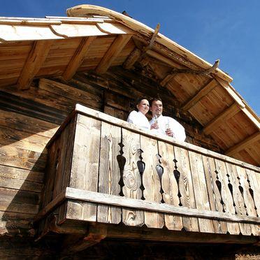 Alpine-Lodges Matthias, Terrasse