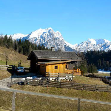 Winter, Oberholzerhütte, Unken, Salzburg, Salzburg, Österreich