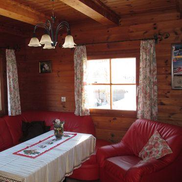 Wohnstube, Dorferhütte, Oberwölz, Steiermark, Steiermark, Österreich