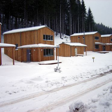 Frontansicht2, Hüttendorf Präbichl in Vordernberg, Steiermark, Steiermark, Österreich