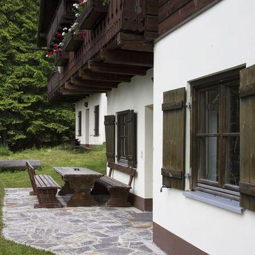 Terrasse, Almhaus Schloffer in Bad St. Leonhard, Kärnten, Kärnten, Österreich