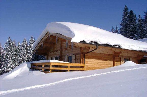 Seitenansicht, Kogelalm in Hainzenberg, Tirol, Tirol, Österreich
