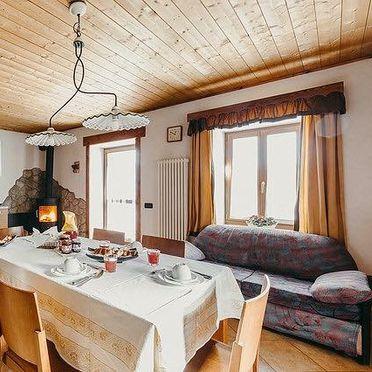Wohn-Essbereich, Maso Alice, Cinte Tesino, Trentino, Trentino-Südtirol, Italien