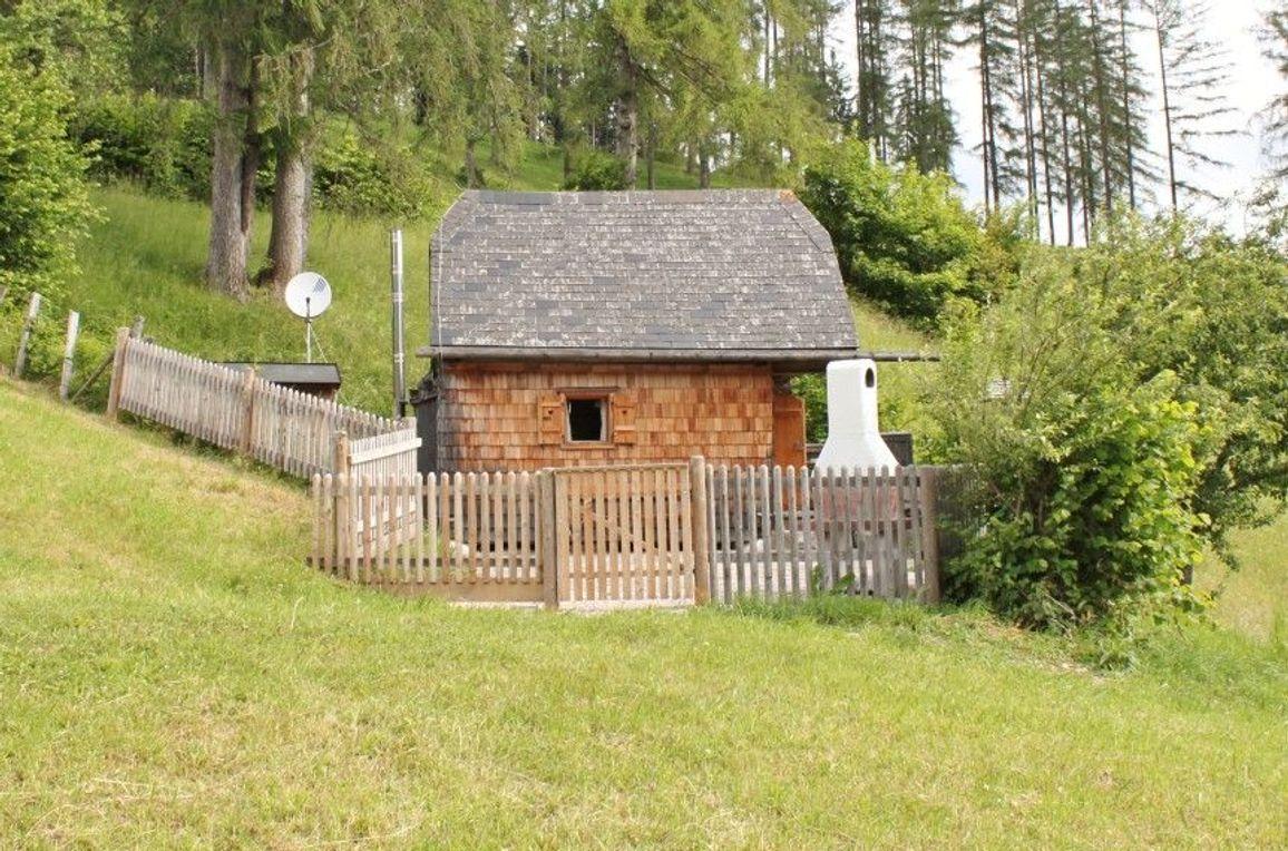 Kuschelhütte, Aussenansicht