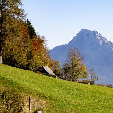 Autumn, Kuschelhütte in Neukirchen, Oberösterreich, Upper Austria, Austria