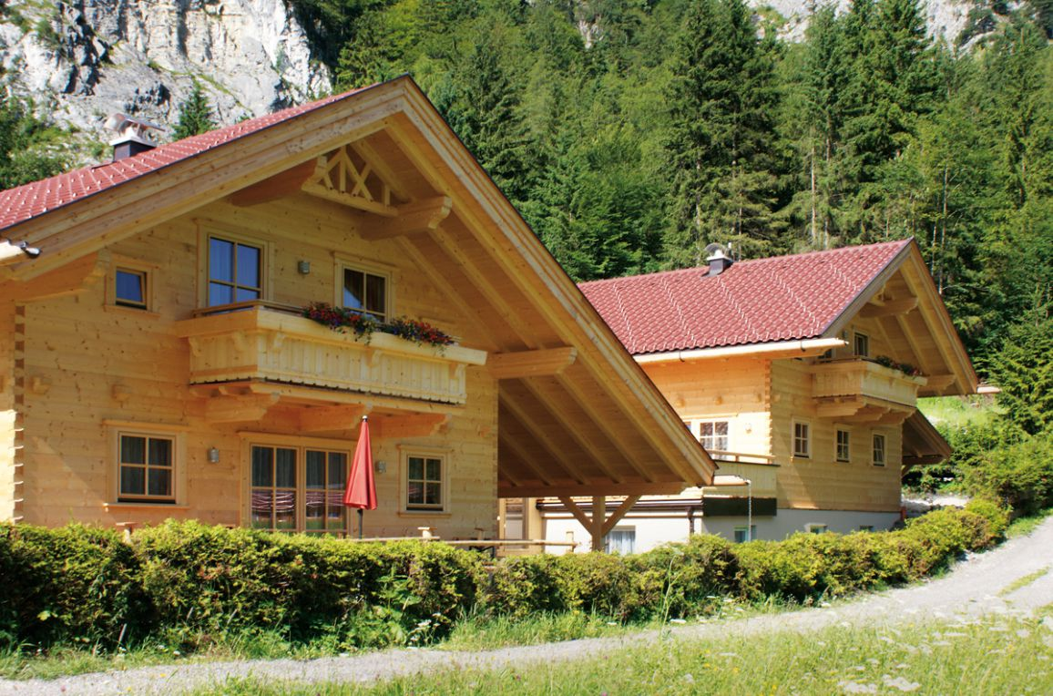 Achenseer Hüttendörfl, Sommer