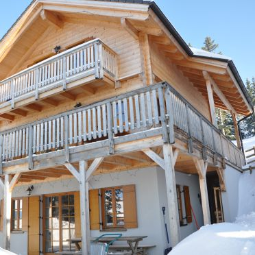 Winter, Almrausch-Feriendorf Koralpe in St. Stefan, Kärnten, Kärnten, Österreich