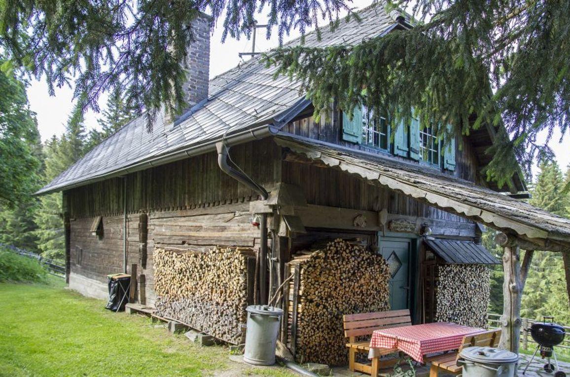 Reinhoferhütte, Aussenansicht