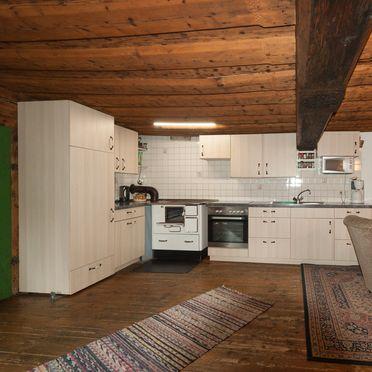 Küche, Reinhoferhütte in St. Gertraud, Kärnten, Kärnten, Österreich