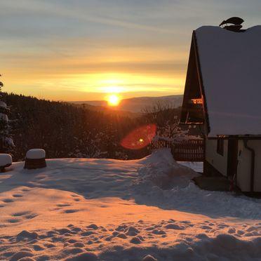 Jagerhütte, Winter