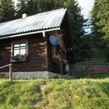 Zirbenwaldhütte, Sommer