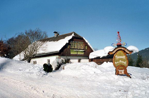 Frontansicht, Hoamatlhütte, Pichl, Steiermark, Steiermark, Österreich