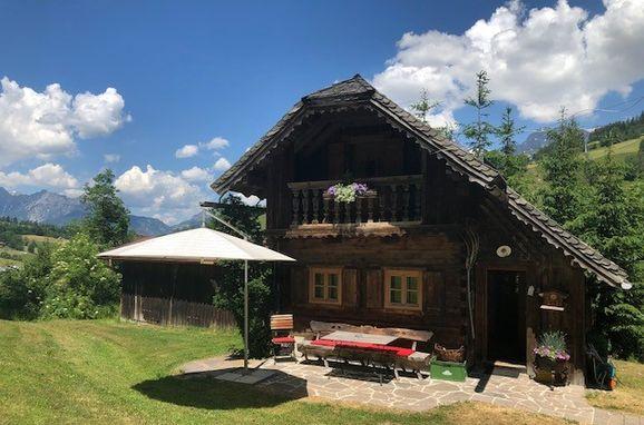 außen mit Terrasse, Hexenhäuschen, Maria Alm, Salzburg, Salzburg, Österreich