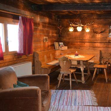 Living room, Karblickhütte, Bucheben, Salzburg, Salzburg, Austria