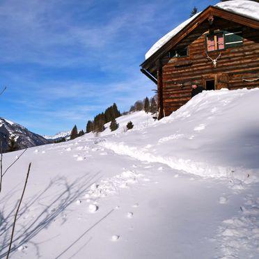 Winter, Karblickhütte in Bucheben, Salzburg, Salzburg, Austria