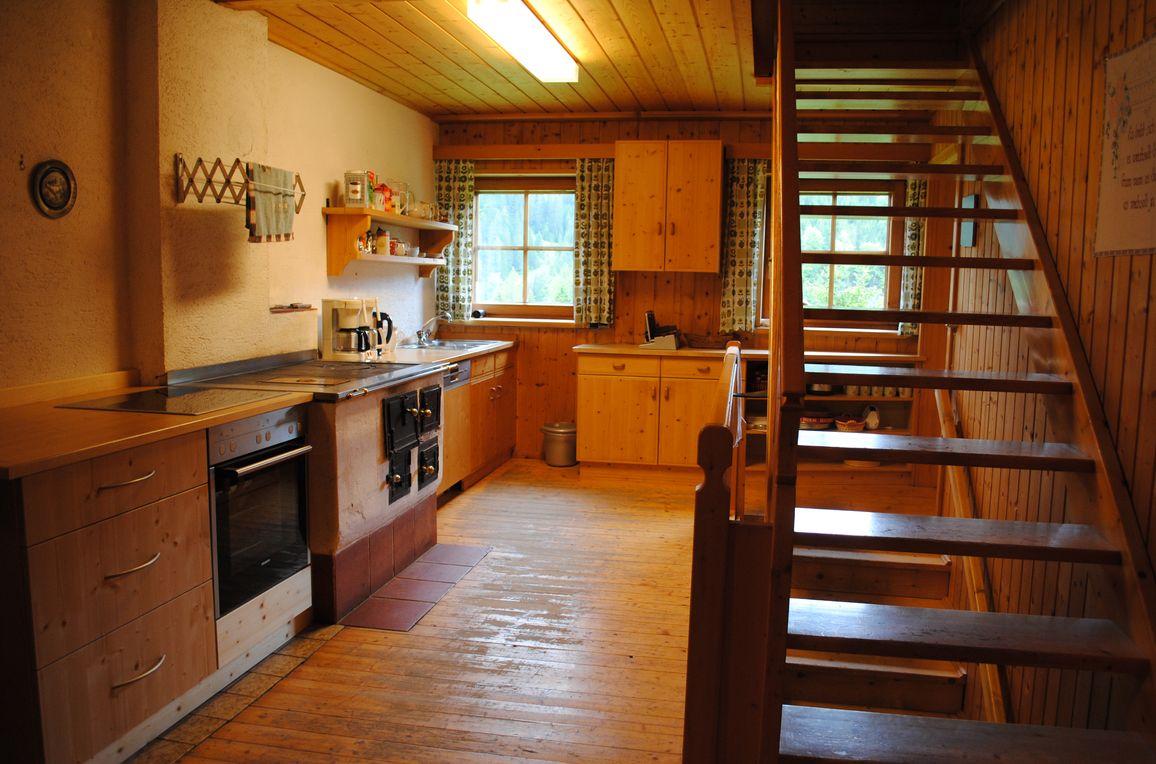 Maierlalm, Küche