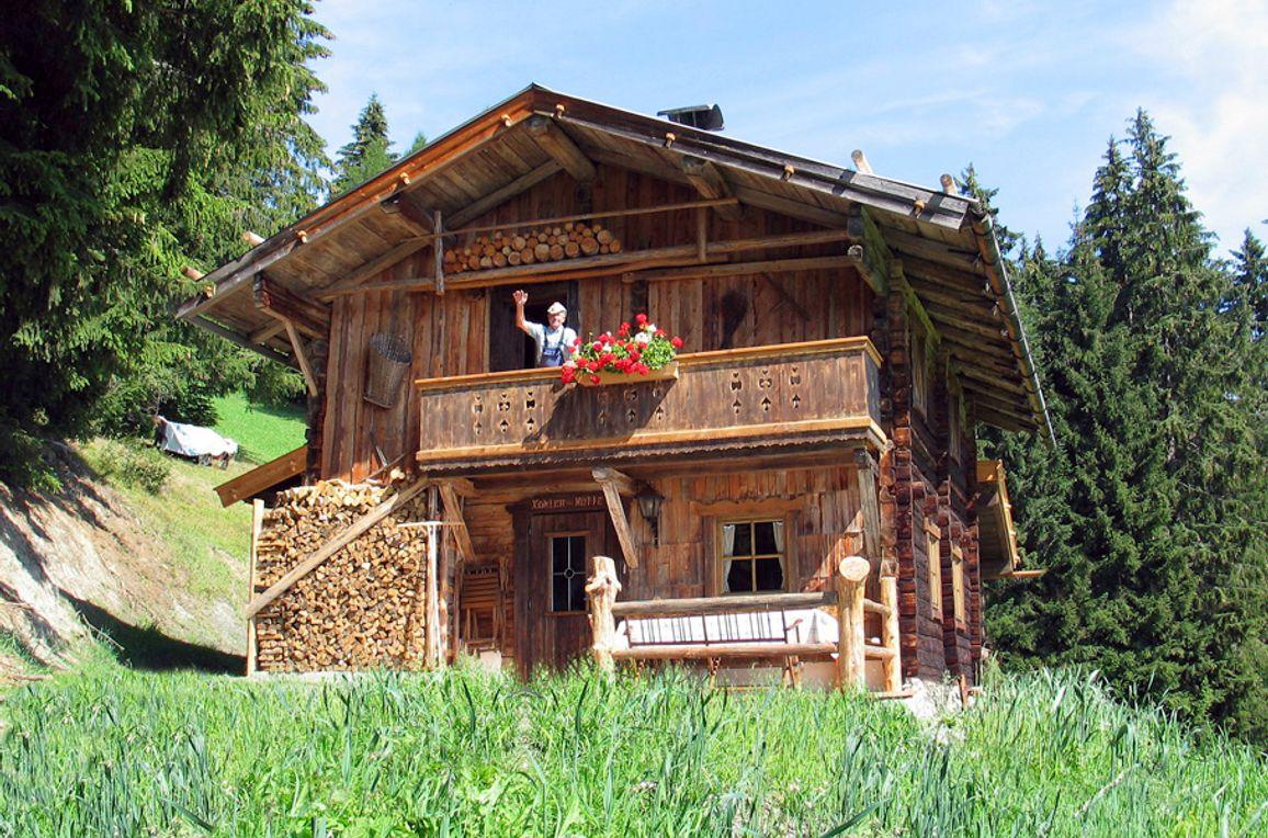 Kohler Hütte, Frontansicht