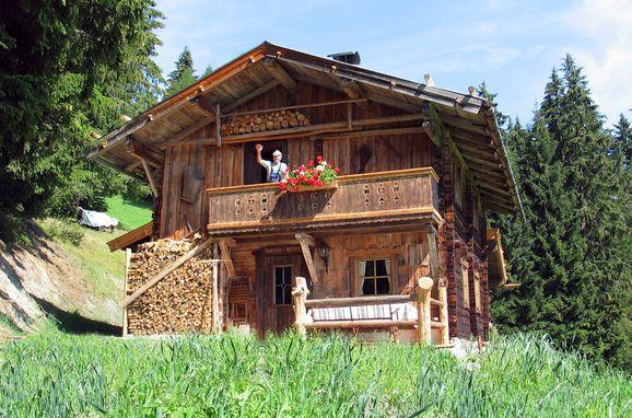 Frontansicht, Kohler Hütte in Fügen, Tirol, Tirol, Österreich