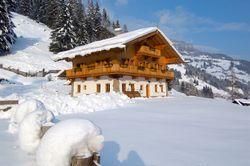Hütten im Salzburgerland in Österreich