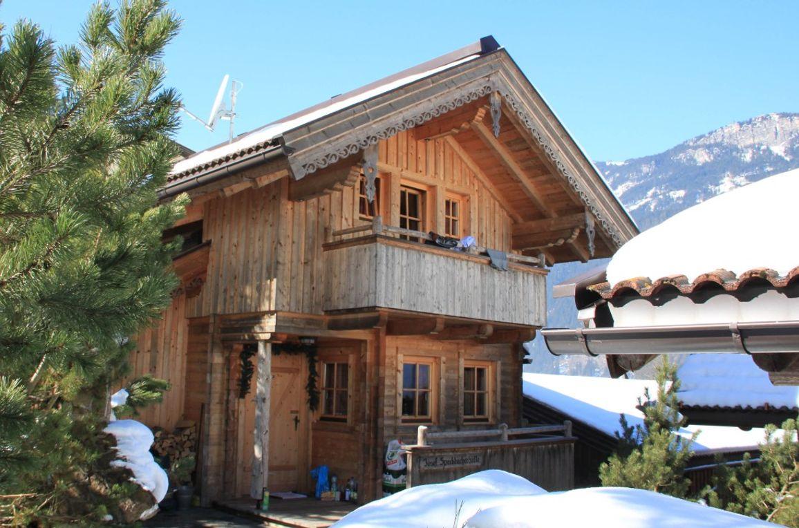Josef-Speckbacher-Hütte, Frontansicht
