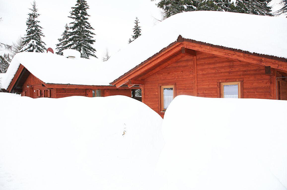 Alpine-Lodges Gertraud, Rueckansicht1