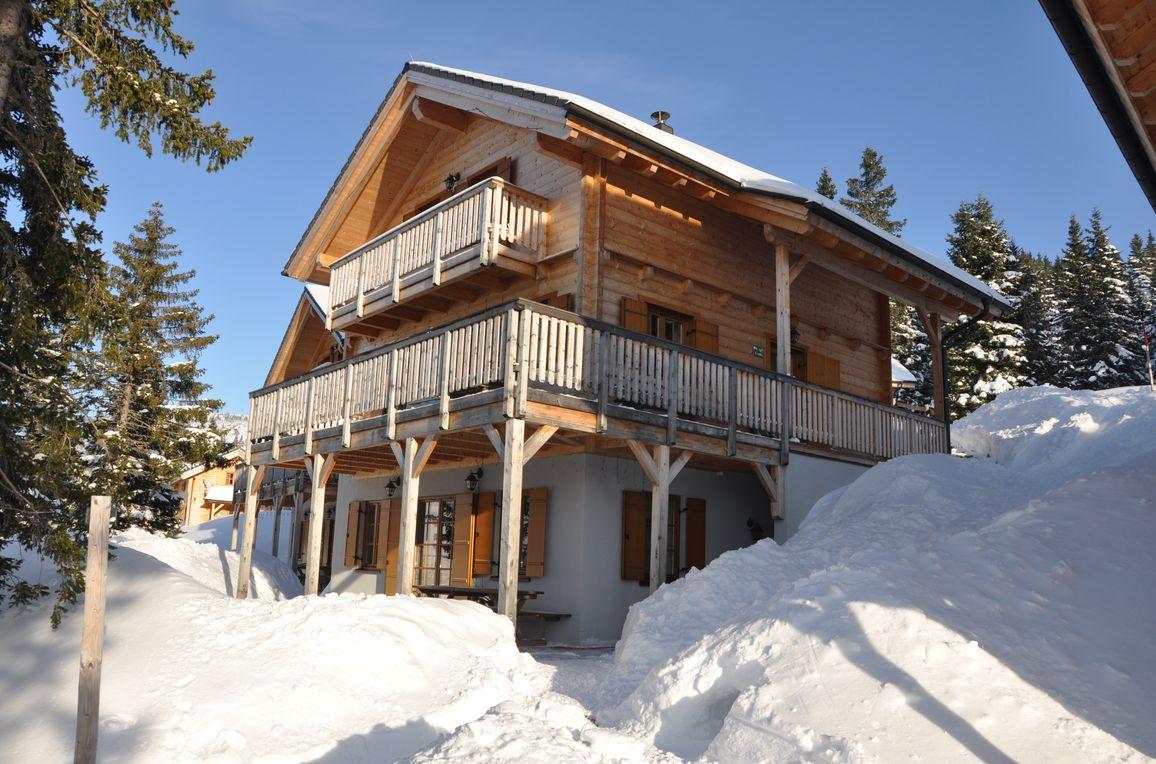 Almliebe-Feriendorf Koralpe, Winter