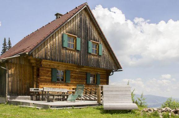 Aussenansicht, Almhütten Moselebauer in Bad St. Leonhard, Kärnten, Kärnten, Österreich