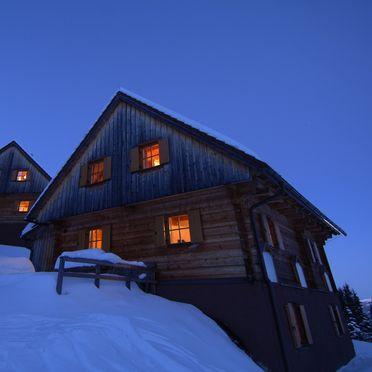 Winter - Abendstimmung, Almhütten Moselebauer, Bad St. Leonhard, Kärnten, Kärnten, Österreich