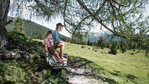 Erkunden Sie mit Ihren Kindern die schönsten Plätze im Naturpark Karwendel.