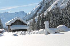 Biohotel Stillebach: Blick zur Wildspitze - Biohotel Stillebach, St. Leonhard im Pitztal, Tirol, Österreich