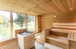 Sauna am Hof - Biohotel Stillebach, St. Leonhard im Pitztal, Tirol, Österreich