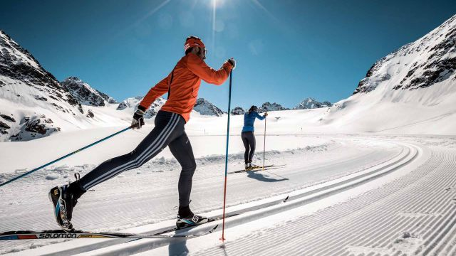 Just cross-country skiing