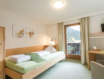 Wildspitzblick Einzelzimmer - Biohotel Stillebach