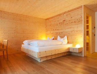 Familien-Appartement Holz100 - Biohotel Mattlihüs