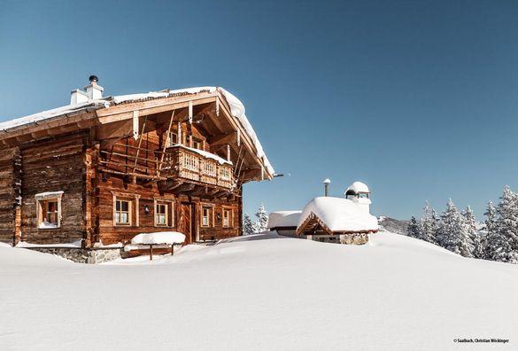 Berghütten, Hütten und Skihütten in Saalbach-Hinterglemm mieten