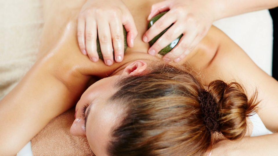 Massage du dos 20 min.