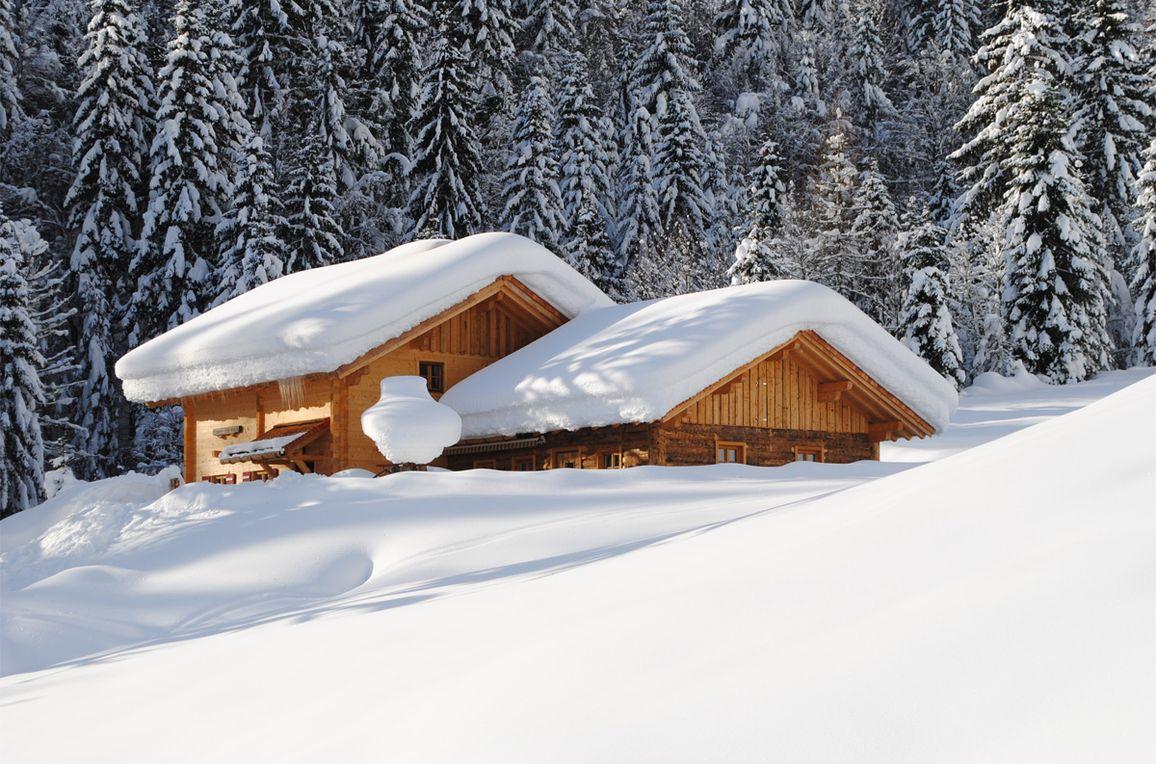 Loimoarhütte, Winter