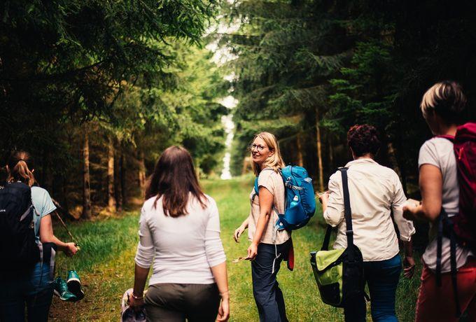 Waldbaden mit Diana Richter von Dein.Freiraum