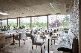 Frühstücksraum im Hotel & Spa Genussdorf Gmachl