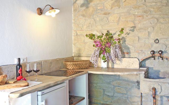 Biohotel La Pievuccia: Hauswein genießen