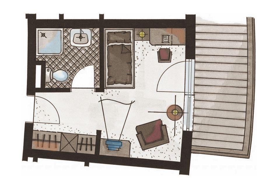 Single Room Edelweiss 2/3