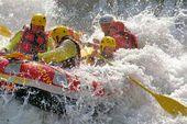 Rafting sul fiume Aurino