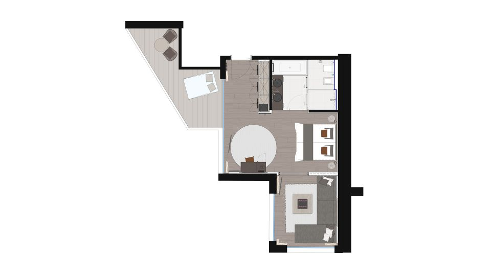 NEW! Mountain View Suite 2/3