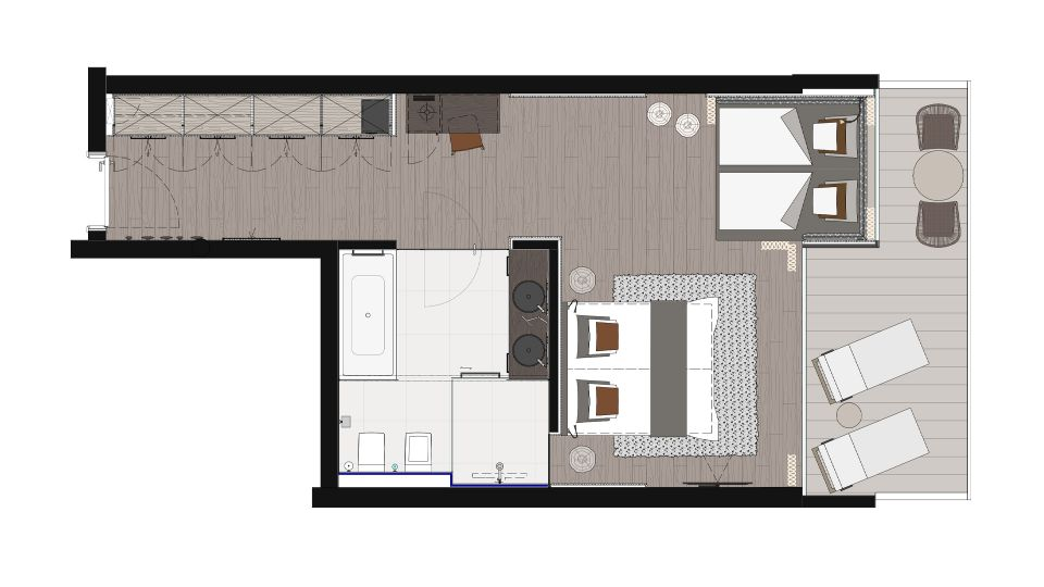 NEU! Chalet Junior Suite (FAMILY) 2/2