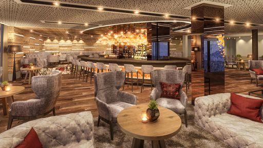 Hotel Lounge Bar at LUNARIS Wellnessresort