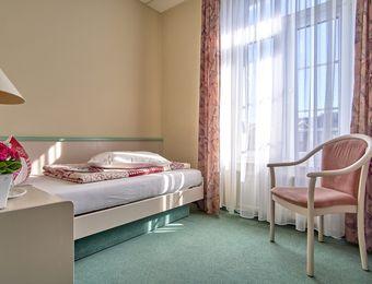 Single room - Biohotel Amadeus