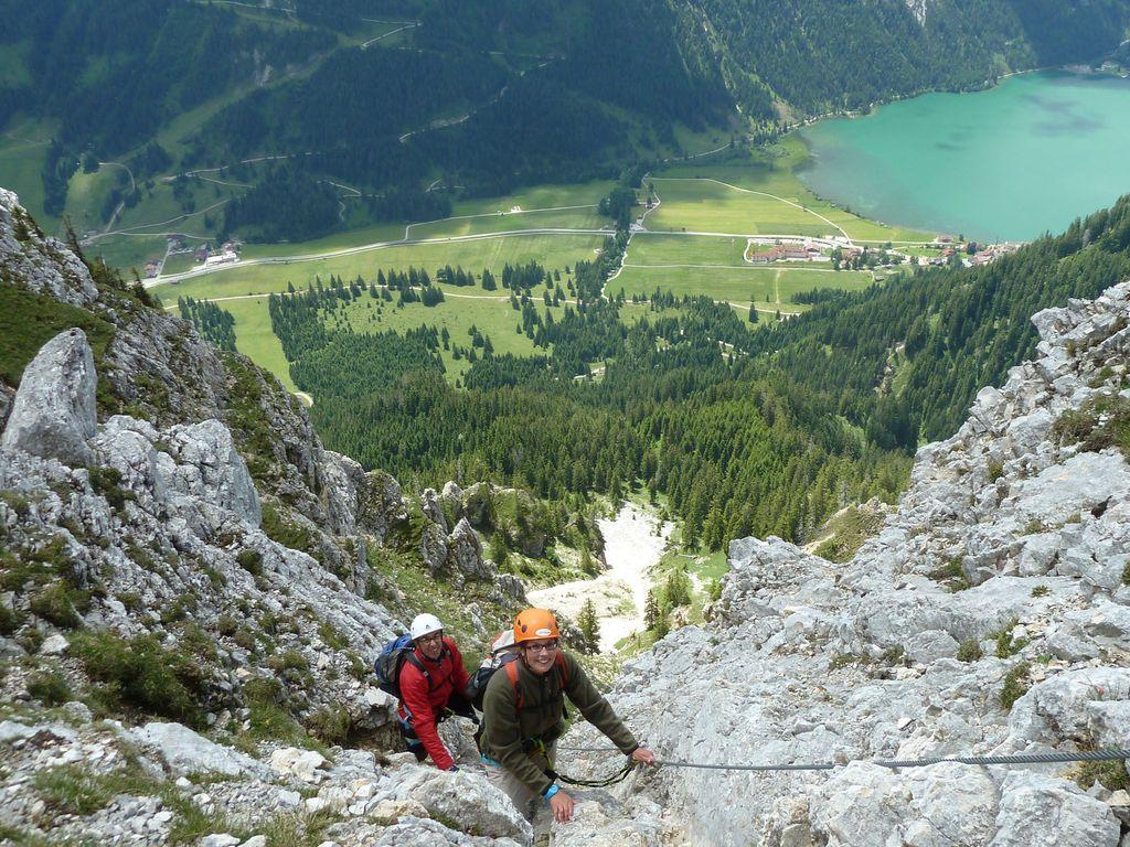 Klettersteig Tannheimer Tal : Mein erster klettersteig hotel lumberger hof