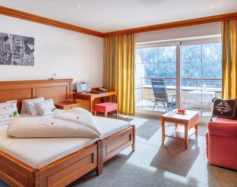 """Doppelzimmer de Luxe: Doppelzimmer """"Valisera de Luxe"""""""