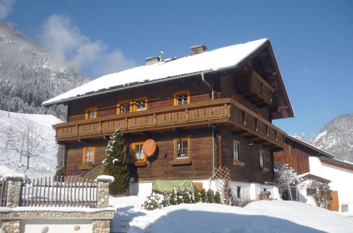 Holzenhütte, Winter